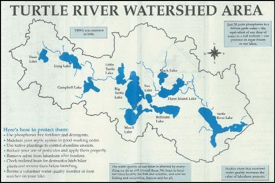 Turtle River Watershed Association Map
